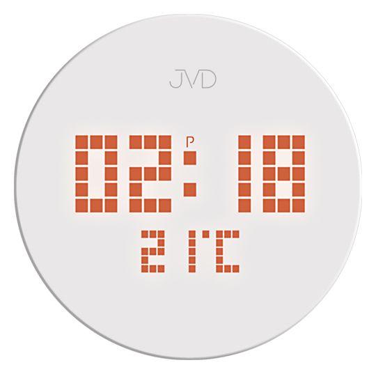 Nástěnné hodiny JVD SB2171 s celoplošným podsvícením do el. sítě ( )
