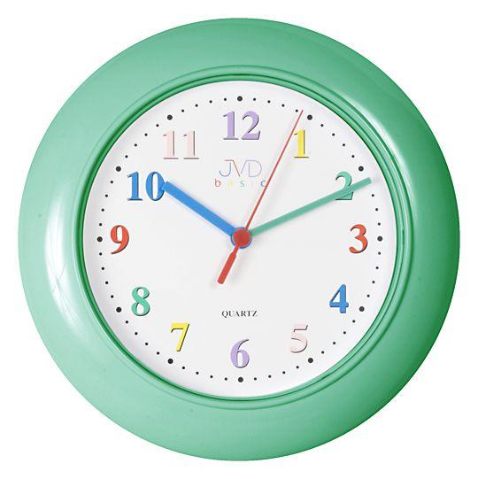 Dětské nástěnné hodiny JVD basic Quartz SR 607.7