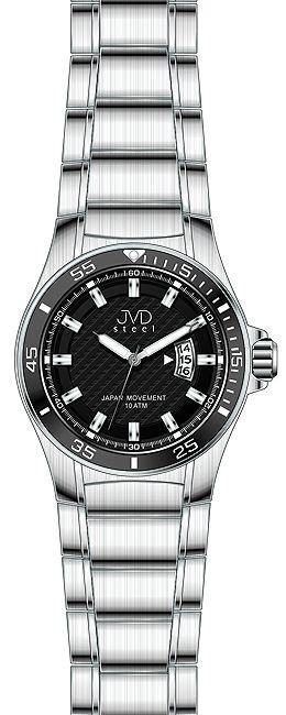 Pánské ocelové Náramkové hodinky JVD steel J1067.1