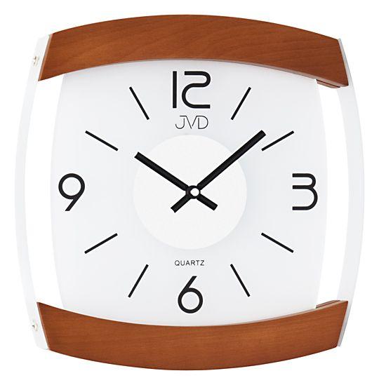 Skleněné Nástěnné hodiny JVD quartz N11063.41