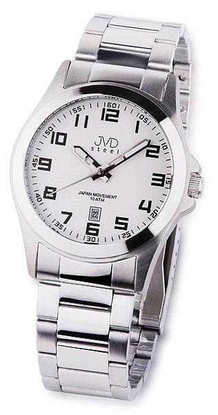 6b07c6450db Pánské ocelové vodotěsné hodinky JVD steel J1041.4 - 10ATM