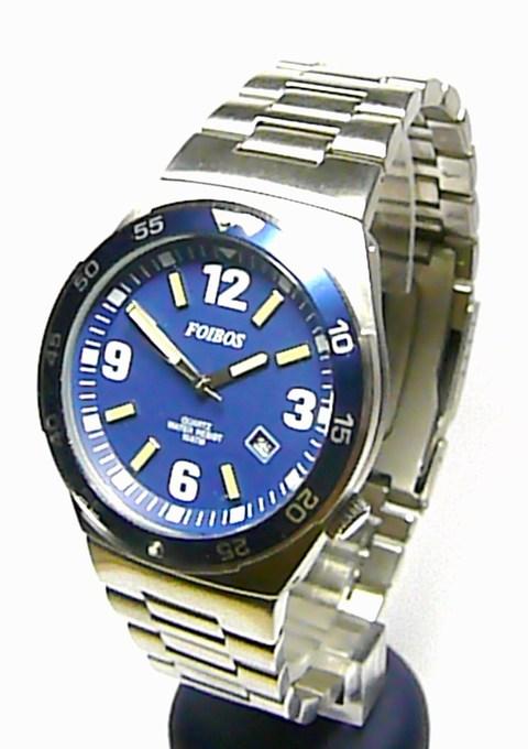 Ocelové vodotěsné moderní hodinky Foibos 6567 - 10ATM
