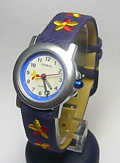 Dětské textilní modré hodinky Foibos 6802