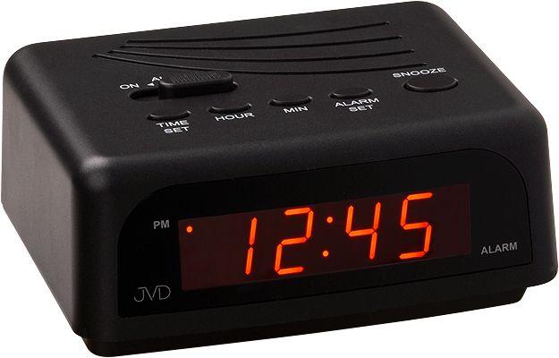 Černý svítící digitální budík JVD SB601.1