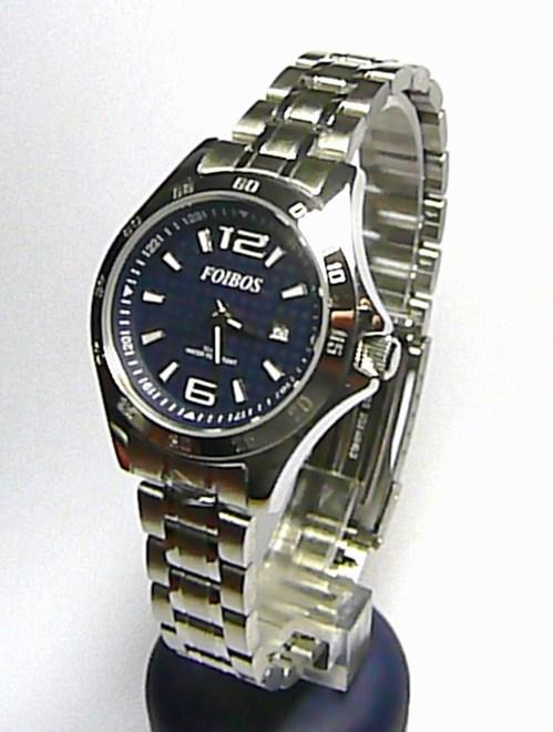 Dámské vodotěsné sportovní ocelové hodinky Foibos 2539 - 10ATM