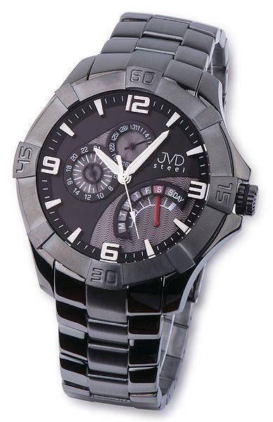 Nerez ocelové pánské luxusní náramkové hodinky JVD steel JA620.5