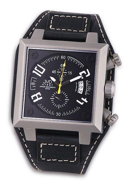 Pánské ocelové náramkové hodinky JVD steel J1055.2