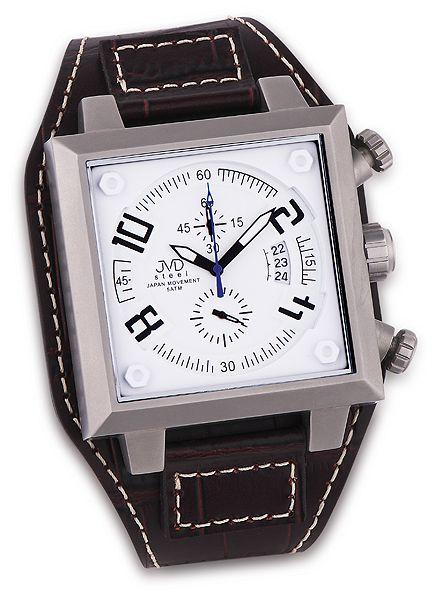 Pánské ocelové náramkové hodinky JVD steel J1055.1 (POŠTOVNÉ ZDARMA!!)