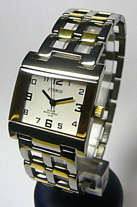Titanové antialergické hranaté dámské hodinky Foibos 20872 (bicolor) (POŠTOVNÉ ZDARMA!!)