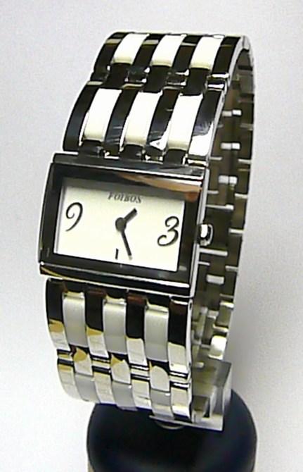 Luxusní dámské bílé keramické ocelové hodinky Foibos 1B56 (bílá keramika) 7d2471b7896