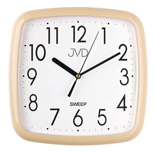 Hranaté moderní nástěnné hodiny JVD sweep HP615.10