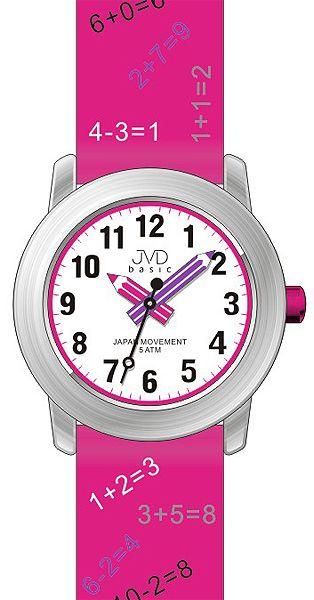Dětské náramkové hodinky JVD basic J7120.1 s tahákem pro děti :-) 5ATM