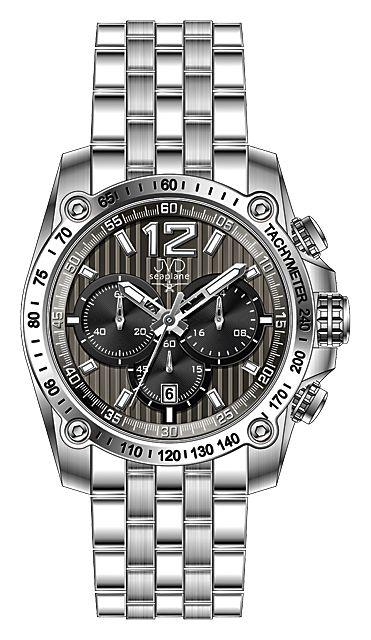 Vysoce odolné vodotěsné ocelové chronografy - hodinky JVD seaplane H20.2 10ATM