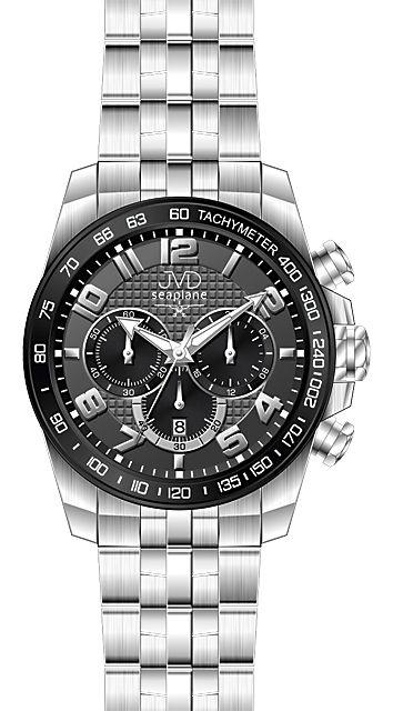 245bc2d2464 Vysoce odolné vodotěsné chronografy náramkové hodinky JVD seaplane H09.2  10ATM