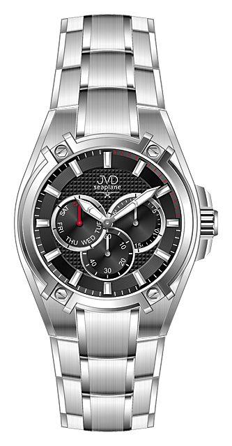 Vysoce odolné vodotěsné chronografy hodinky JVD seaplane F97.2 do extrému