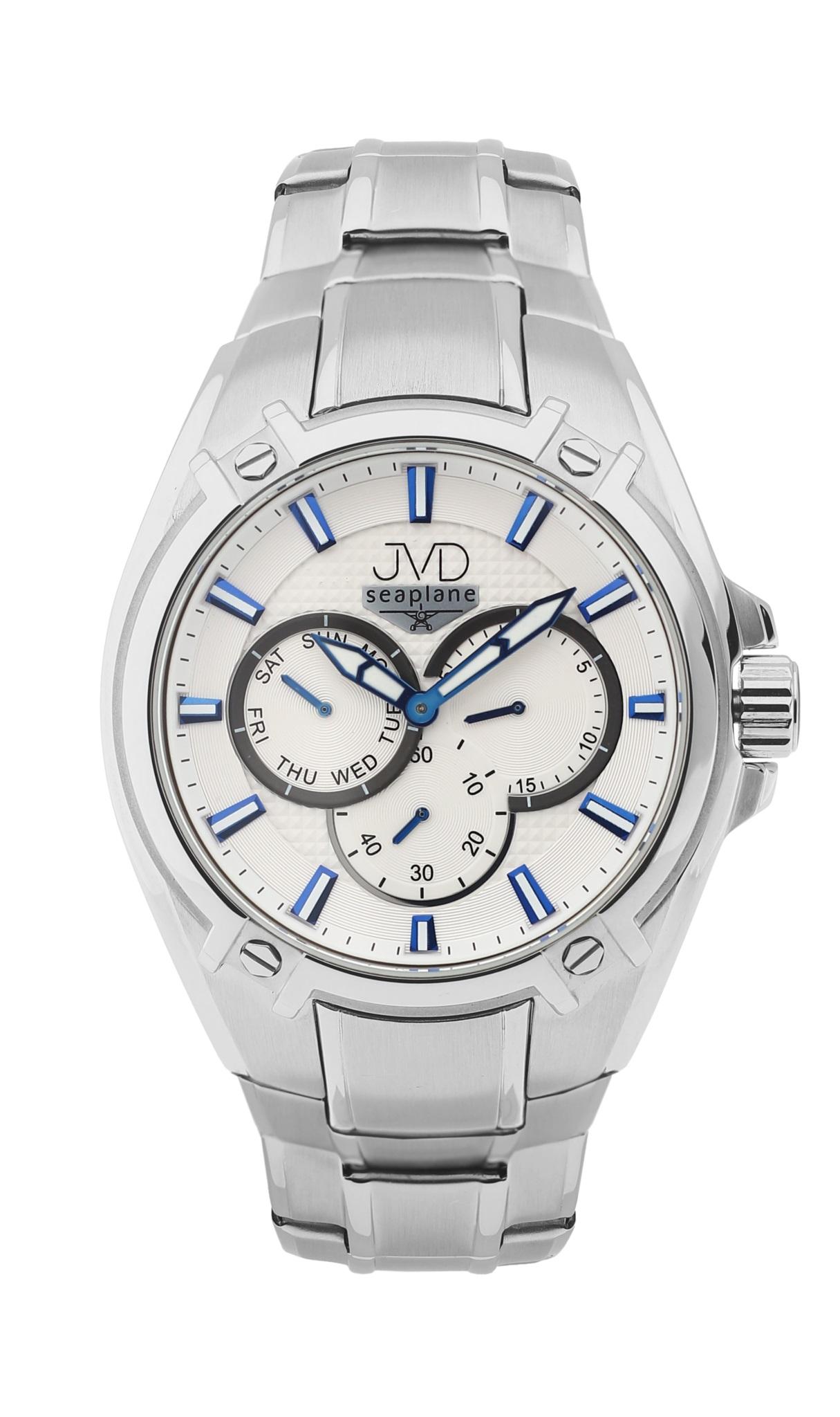 413057b0102 Vysoce odolné vodotěsné chronografy hodinky JVD seaplane F97.1 do extrému