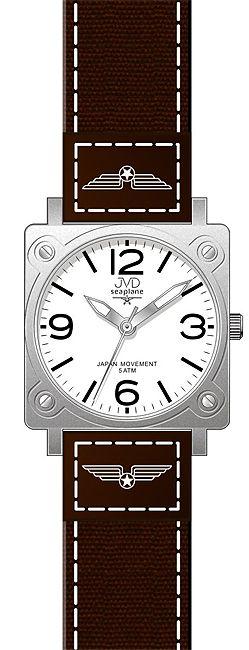 """Dětské """"dospělácké"""" náramkové hodinky JVD seaplane J7098.3 5ATM"""