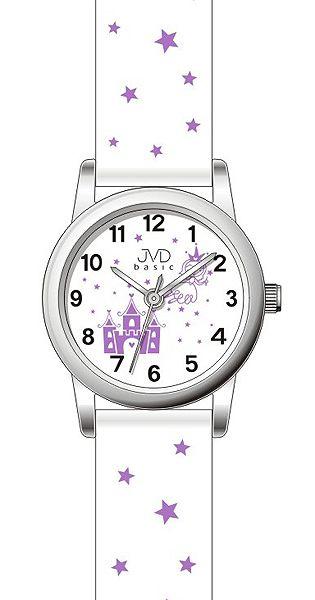 Dětské dívčí hvězdičkové hodinky JVD basic J7135.1 pro holky
