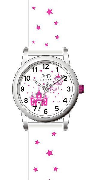 Dětské dívčí hvězdičkové hodinky JVD basic J7135.3 pro holky