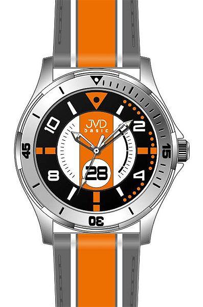 Chlapecké sportovní dětské barevné náramkové hodinky JVD basic W60.3 - 5ATM