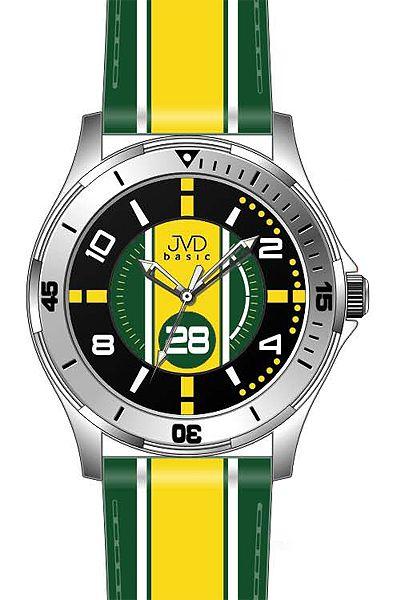 Chlapecké sportovní dětské barevné náramkové hodinky JVD basic W60.1 - 5ATM