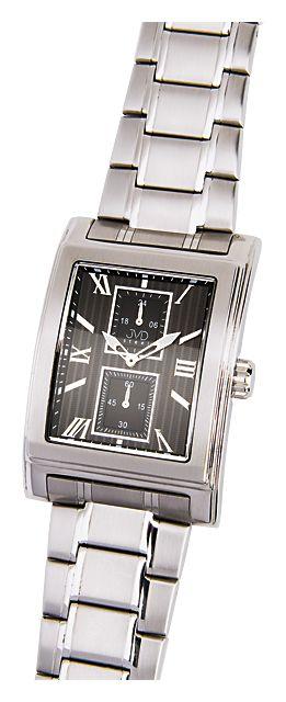 Ocelové hranaté nerezové náramkové hodinky JVD steel H01.2 5ATM b46174d2da