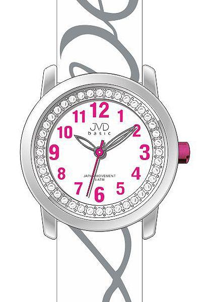 Dětské dívčí hodinky JVD basic J7138.1 pro zamilované děvčata nápis LOVE