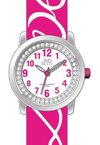 Dětské dívčí hodinky JVD basic J7138.2 pro zamilované děvčata nápis LOVE