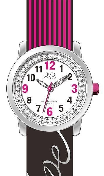 """Dětské holčičí náramkové hodinky JVD basic J7139.2 s nápisem """"LOVE"""""""