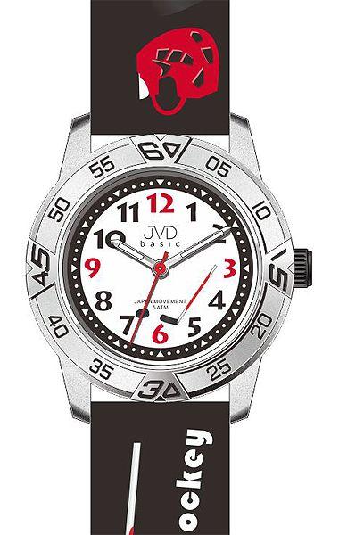 Dětské chlapecké hokejové hodinky JVD basic J7024.8 (HOKEJ) pro malé hokejiisty