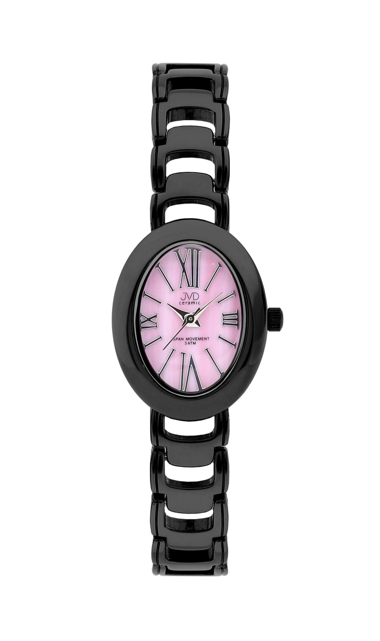 Luxusní keramické dámské náramkové hodinky JVD ceramic J6010.1