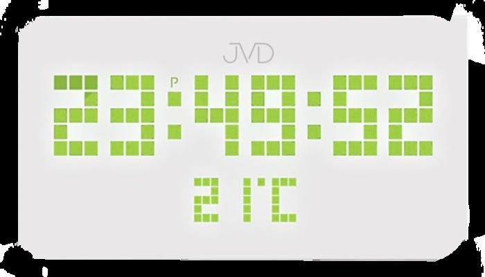 Hranaté digitální designové svítící LED hodiny SB2178.2 se zelenými číslicemi (POŠTOVNÉ ZDARMA!!!)