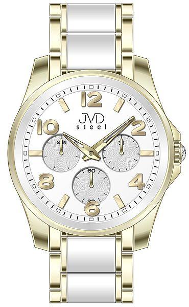 Pánský luxusní chronograf náramkové voděodolné hodinky JVDW 56.5 (55)