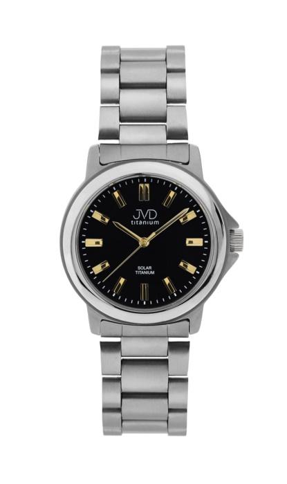 Titanové solární vodotěsné hodinky JVD titanium J2015.2 BEZ BATERIE 2014