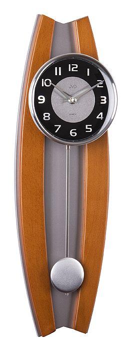 Kyvadlové moderní dřevěné hodiny JVD N13003/41