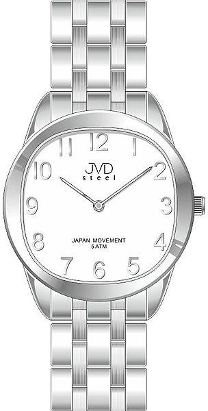 Pánské ocelové náramkové hodinky JVD steel J4116.1 - 5ATM