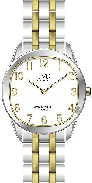 Pánské ocelové náramkové hodinky JVD steel J4116.2 - 5ATM