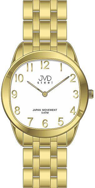 Pánské ocelové náramkové hodinky JVD steel J4116.3 - 5ATM