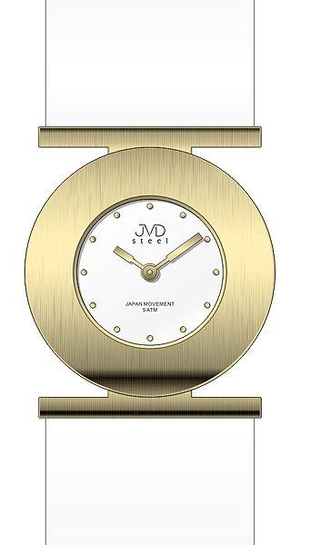 Dámské ocelové nerezové náramkové hodinky JVD steel J4104.3