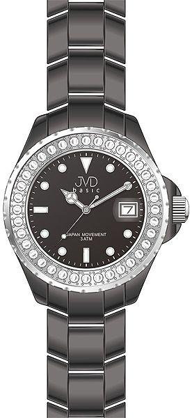 Dámské ozdobné elegantní náramkové hodinky JVD basic J6005.1
