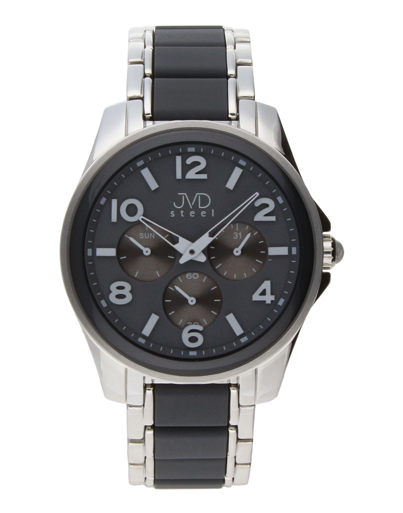 Pánský luxusní chronograf náramkové voděodolné hodinky JVDW W56.6