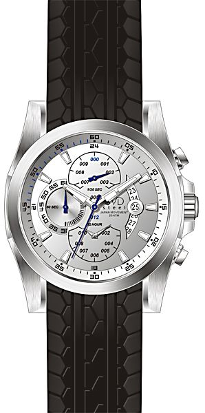 Pánské vodotěsné hodinky JVD steel J1054.2 pro potápěče 20ATM