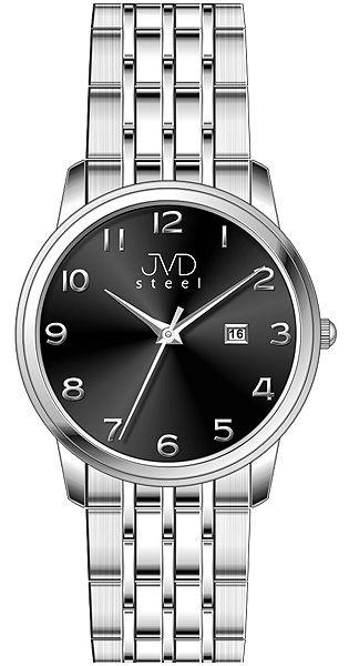 Pánské ocelové voděodolené hodinky JVD steel W67.2 - 5ATM