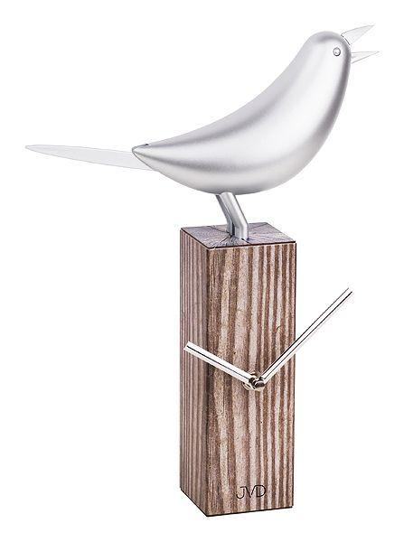 Dřevěné moderní stolní nástěnné/stolní hodiny JVD HB04 (POŠTOVNÉ ZDARMA!!)
