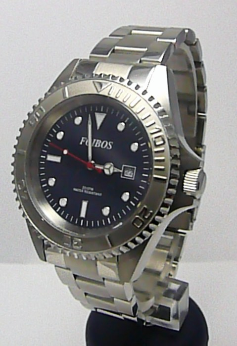 Mohutné vodotěsné potápěčské hodinky Foibos 3545 - 20ATM