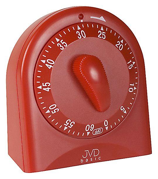 Červená bateriová minutka JVD basic SR82.5