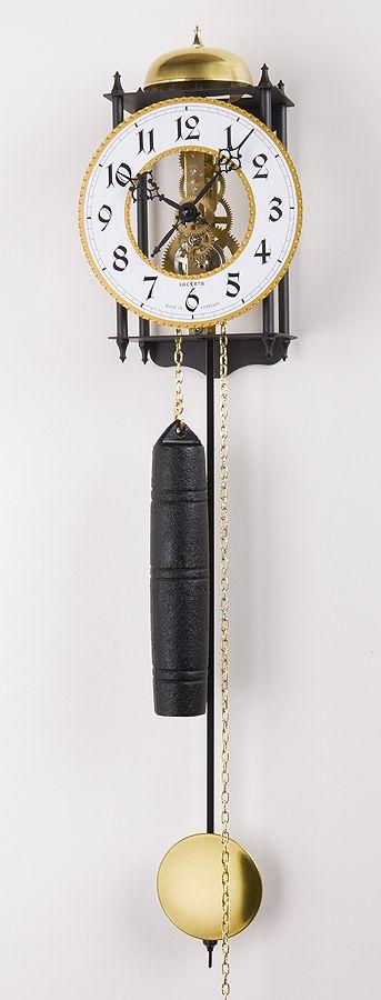Luxusní kyvadlové kovové mechanické závažové hodiny Lacereta L02
