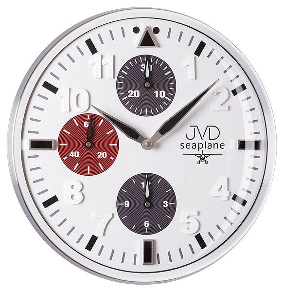 Luxusní hodiny JVD seaplane HA15.2 po vzoru chornografových hodinek