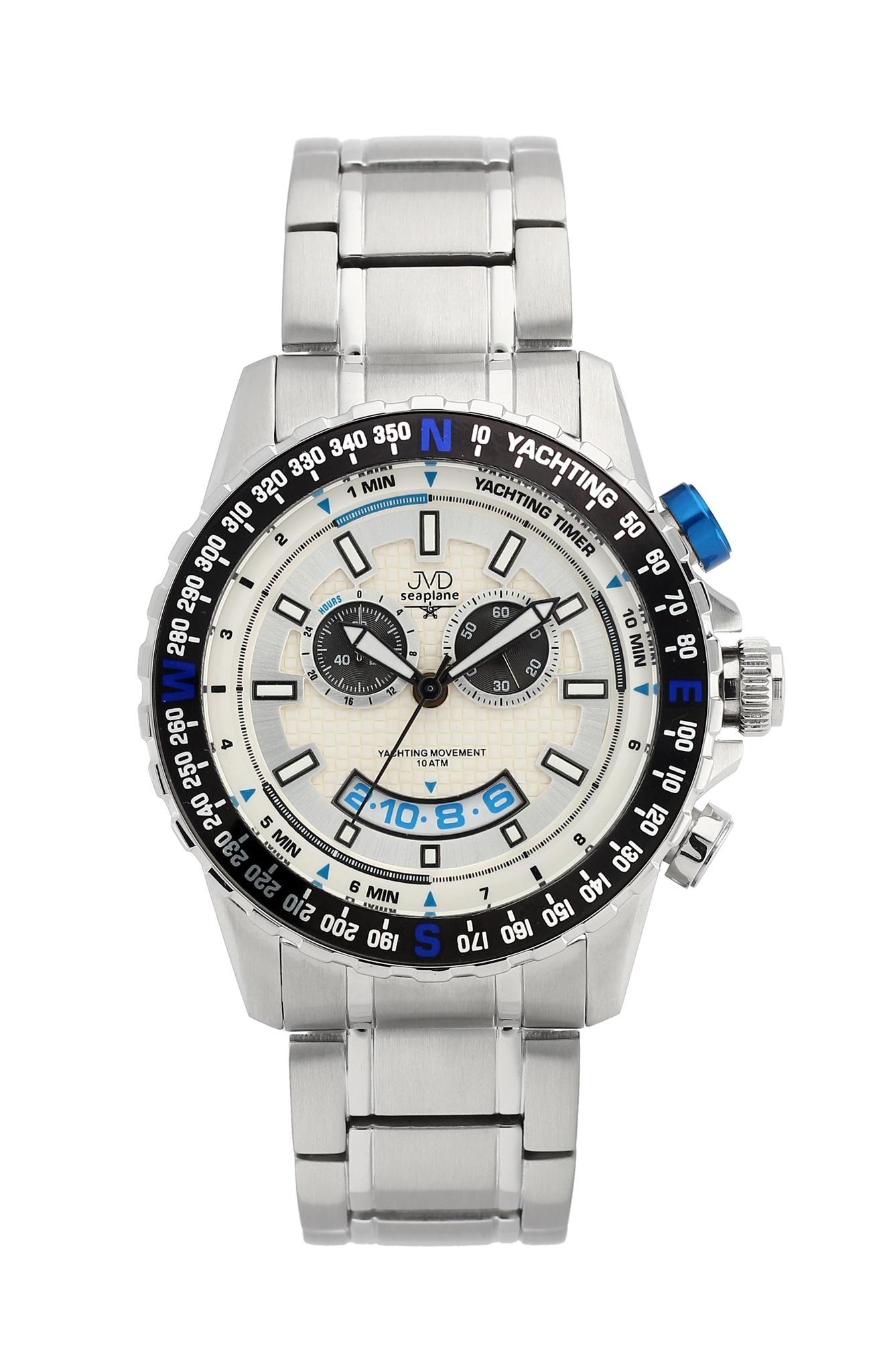 Vysoce odolené sportovní vodotěsné hodinky JVD seaplane J1096.1 - chronograf