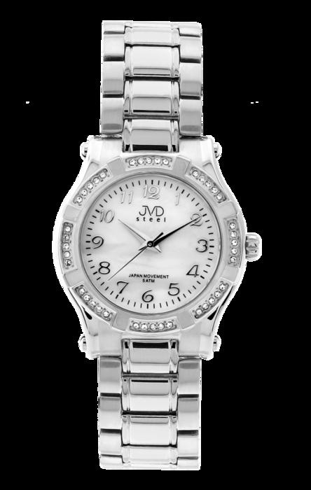 Dámské ocelové módní voděodolné hodinky JVD steel J4128.1 - 5ATM (POŠTOVNÉ ZDARMA!!!)